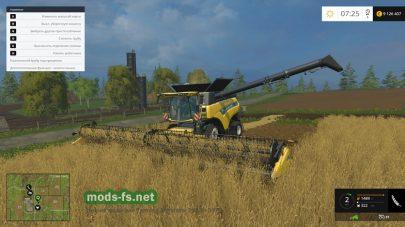 Большой комбайн New Holland для Фермер Симулятор