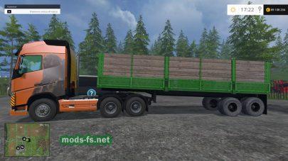 Прицеп для перевозки больших грузов