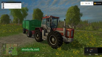Мод трактора Schlueter 2500