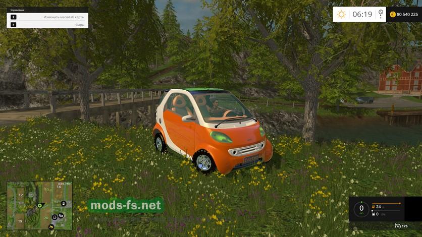 Автомобиль smart для фермер симулятор 2015