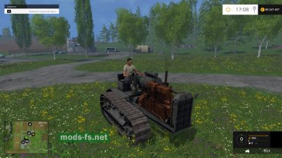 Старый трактор для Фермер Симулятор
