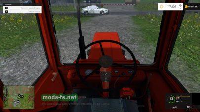 Реалистичная кабина Т25
