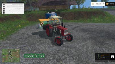 Мод трактора ЮМЗ 6-КЛ