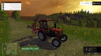 Мод трактора ЮМЗ-8040