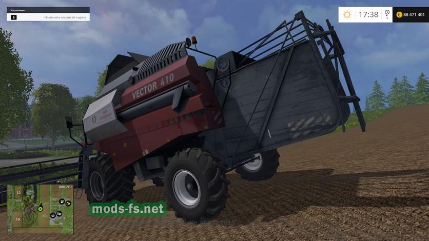 Скачать мод на farming simulator 2015 на комбайны