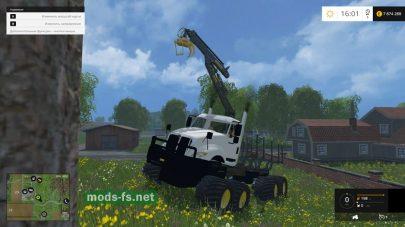 Мод 8X8 Log Truck