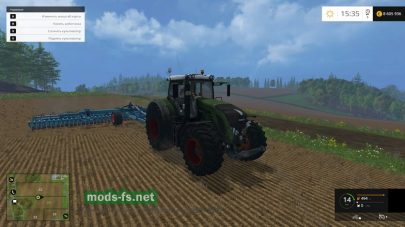 Мод FENDT VARIO 933 для Фермер Симулятор