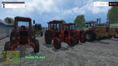 Набор техники для Фермер Симулятор