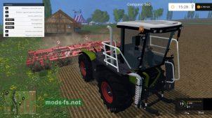 Мод трактора Claas Xerion