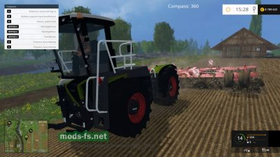 Claas Xerion 3800 Saddle