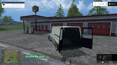 Микроавтобус Driveable traffic van для FS 2015