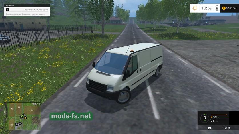 Мод mercedes sprinter сервис для farming simulator 2015.