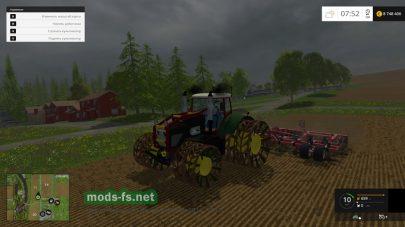 Мод трактора Fendt 936