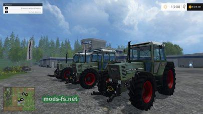 Набор тракторов Fendt для Фермер Симулятор