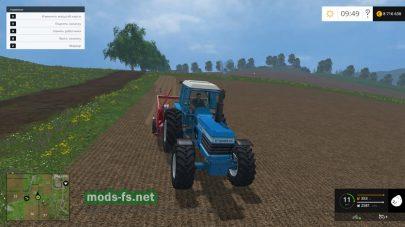 Мод трактора Ford Tw-30
