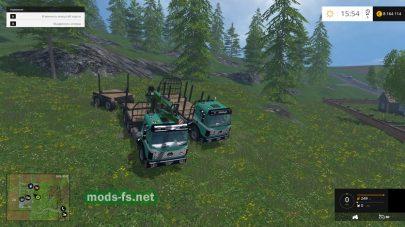 Тягачи Mercedes для леса