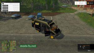 Мини-автобус Mercedes Sprinter