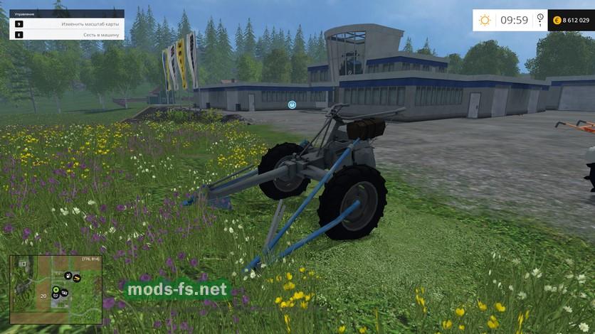 скачать мод на мотоблок для farming simulator 2017