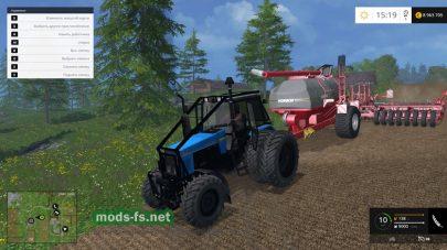 Трактор для леса в игре Фермер Симулятор