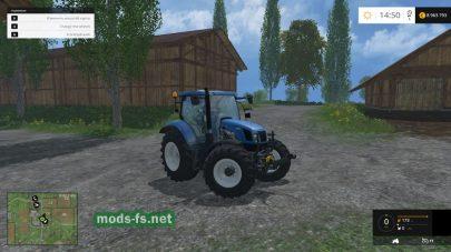 Мод трактора NEW HOLLAND