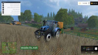 Синий трактор для Фермер Симулятор