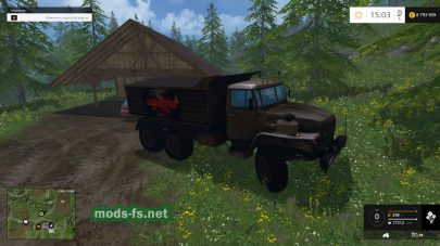 УРАЛ для Farming Simulator 2015