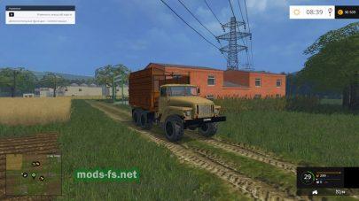 Русский грузовик для Фермер Симулятор 2015