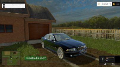 Мод BMW e39 Series 5 для Фермер Симулятор