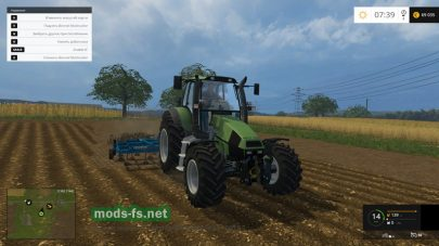 Мод трактора Agrotron 120 для Фермер Симулятор