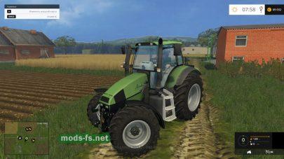 Трактор Agrotron 120