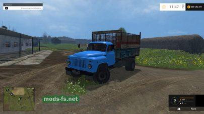 ГАЗ-53 для перевозки силоса