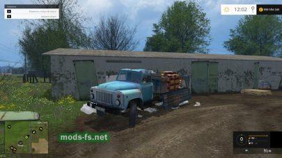 Старый ГАЗ-53