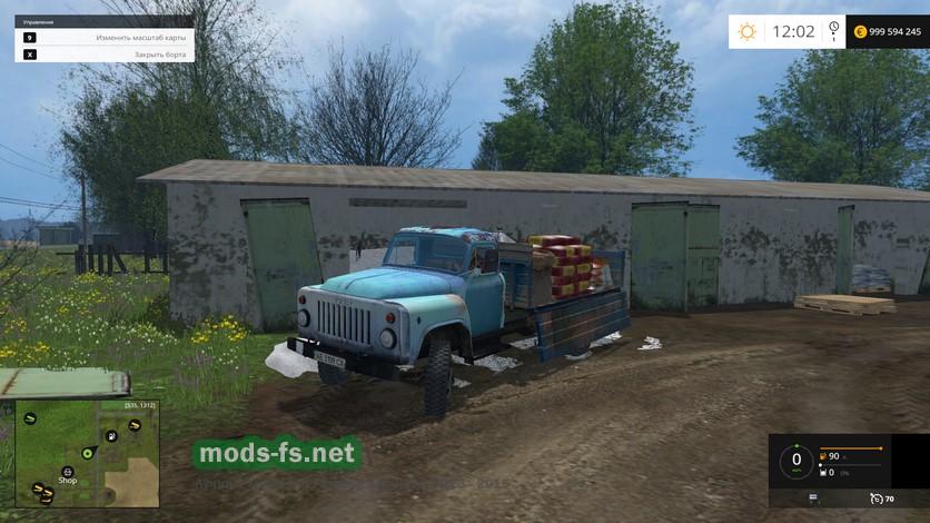 Скачать Моды На Farming Simulator 2015 На Газ 53 - фото 8