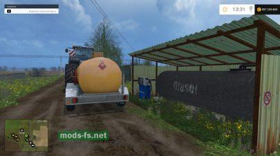 Заправка для Фермер Симулятор 2015