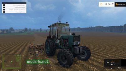 Мод трактора ЮМЗ 4х4