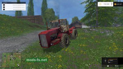 Мод трактора К-710