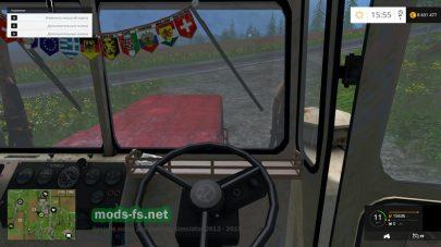Кабина трактора К-710