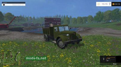 Мод старого советского грузовика