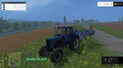 Мод трактора МТЗ-82 «Турбо»
