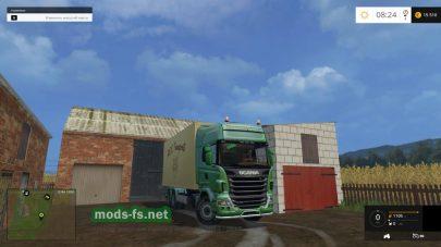 Тягач ROS Scania