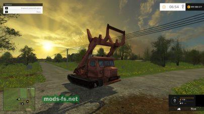 Мод трактора TT-4