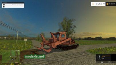 Трактор для погрузки леса в Фермер Симулятор