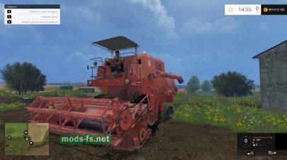 Bizon Z056 для Фермер Симулятор 2015