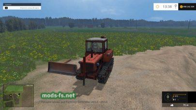 Гусеничный бульдозер для фермы