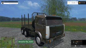 Мод КамАЗ-54115 для леса