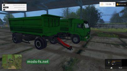 Зеленый КамАЗ для FS 2015