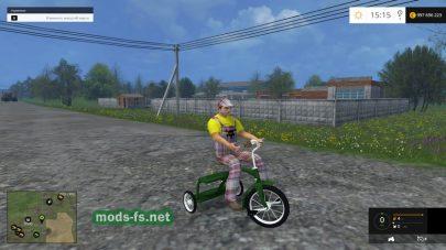 Велосипед для Фермер Симулятор