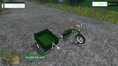 Мод велосипеда KidsTrikeHT