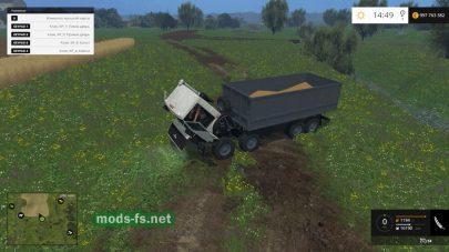Большой грузовик для Фермер Симулятор