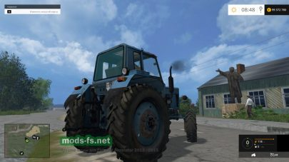 Мод старого трактора МТЗ